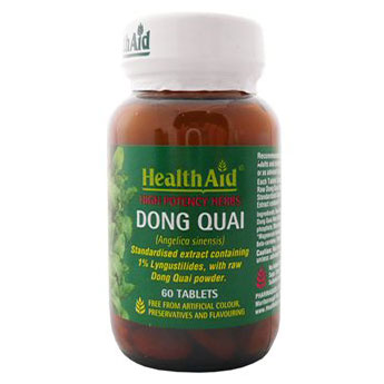health aid Dong Quai Root Extract Ταμπλέτες για την κυκλοφορία του αίματος - pharmacy4y overespa