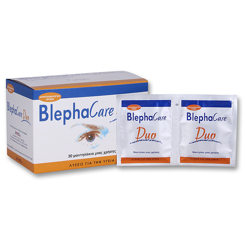 Blephacare Duo Καθημερινός καθαρισμός των ματιών - Pharmacy4y - Overespa