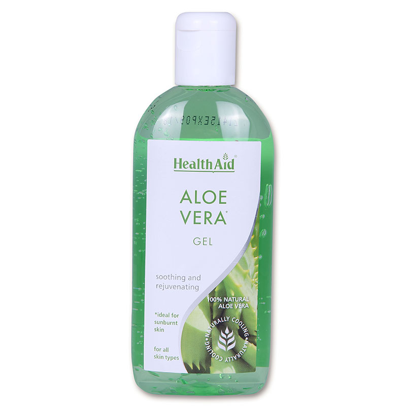 Health aid aloe vera gel 250ml - pharmacy4y overespa