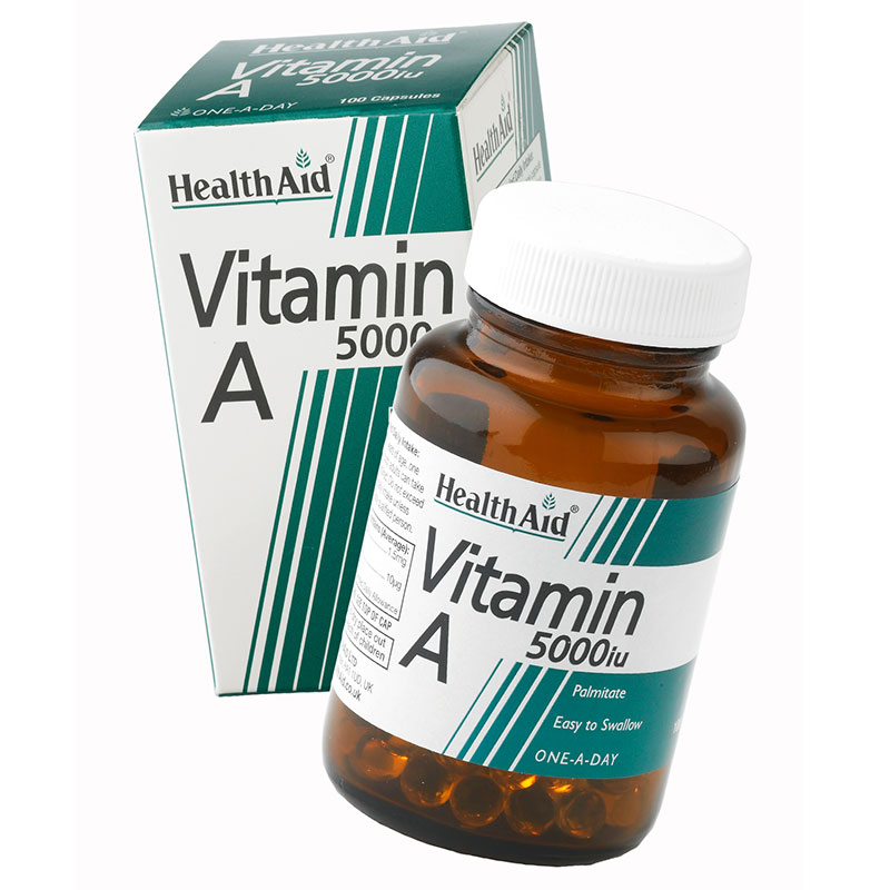 Health aid vit a 5000iu 100caps - pharmacy4y overespa