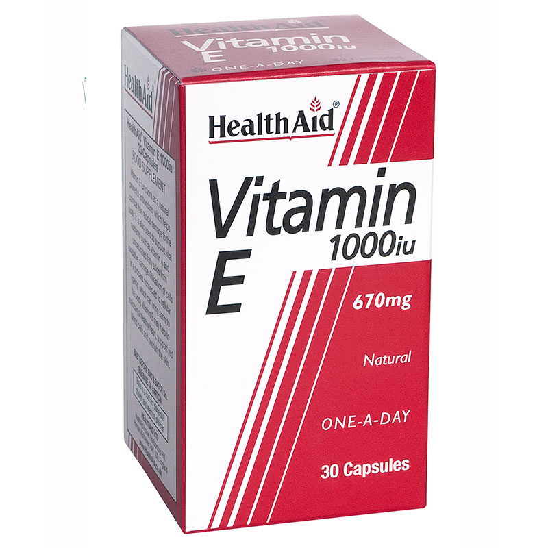 Health aid vit e 1000 i.u. 30 softgels - pharmacy4y overespa