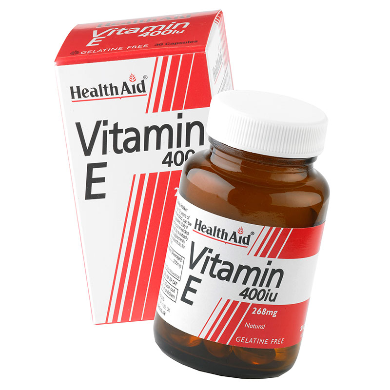 Health aid vit e 400 iu 30- pharmacy4y overespa