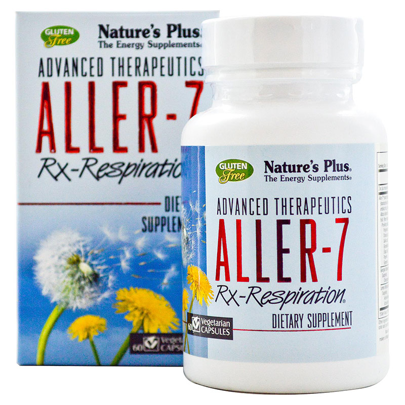 Nature`s plus aller-7 rx-respiration vcaps 60 -pharmacy4y overespa