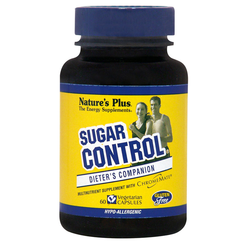 Nature`s plus sugar control vcaps 60 -pharmacy4y overespa