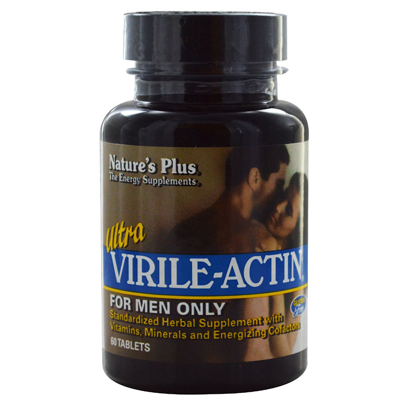 Nature`s plus ultra virile-actin tablets 60 -pharmacy4y overespa
