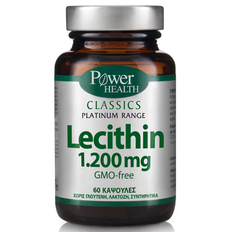 Power health classics platinum - lecithin 1.200mg 60s caps - pharmacy4y overespa