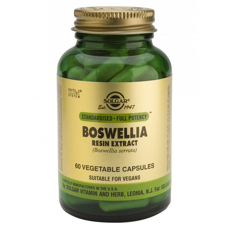 Solgar Boswellia Resin Extract Caps 60s -pharmacy4y overespa
