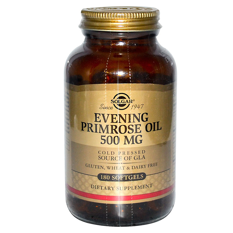 Solgar evening primrose oil 500mg softgels 180s -pharmacy4y overespa