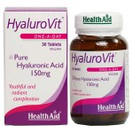 Health aid hyalurovit 150mg 30tabs - pharmacy4y overespa