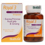 Health aid royal-3 royal jelly 30caps - pharmacy4y overespa