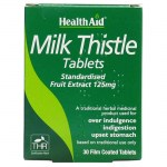 Health aid Milk Thistle Seed Extract 30 tablets Φυτοθεραπεία με ταμπλέτες που προστατεύουν το ήπαρ Pharmacy4y Overespa