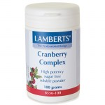 Lamberts Cranberry Complex Powder Ροζ ευδιάλυτη σκόνη, 100gr Pharmacy4y Overespa