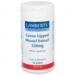 Lamberts Green Lipped Mussel Παυσίπονα κατά της ρευματοπάθειας, 350mg Pharmacy4y Overespa