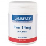 Lamberts Iron Σίδηρος, 14mg 100tabs Pharmacy4y Overespa