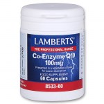 Lamberts Co-enzyme Q10 Συμπληρώματα, 100mg 60caps Pharmacy4y - Overespa