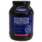 Maxim whey protein strawberry pure 750 gr -pharmacy4y overespa
