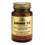 Solgar Amino 75 30s Κάψουλες βασικών αμινοξέων Pharmacy4y Overespa