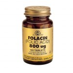 Solgar Folic Acid 800mg Tabs 100s Για την αναιμία Pharmacy4y Overespa