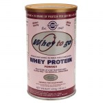 Solgar whey to go protein strawberry powder 454gr -pharmacy4y overespa