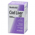 health aid cod liver oil 1000mg 30caps Συμπληρώματα διατροφής κατά της αρθρίτιδας - pharmacy4y overespa