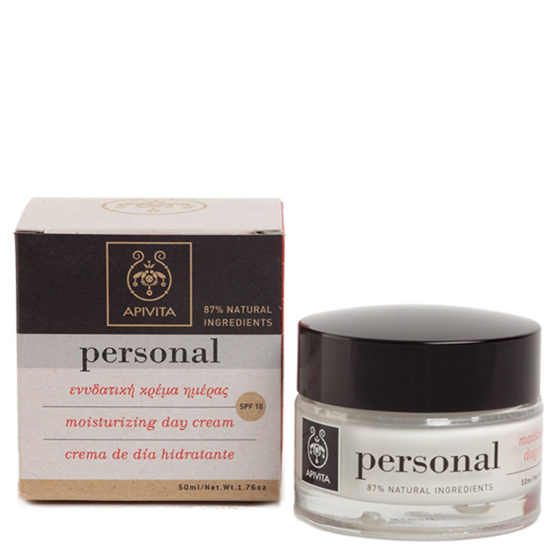 Apivita Personal Day Cream 50ml/09 Ενυδατική κρέμα προσώπου -pharmacy4y overespa