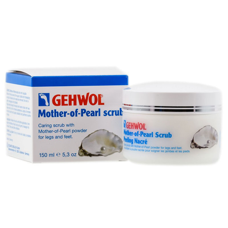 Gehwol Mother Of Pearl Scrub 125ml -pharmacy4y overespa