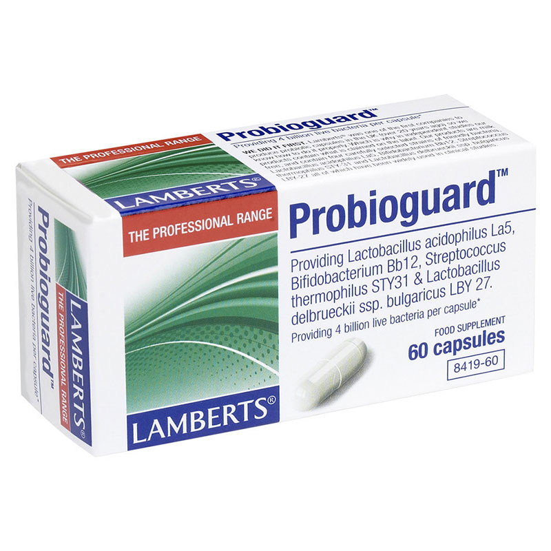 Lamberts Probioguard Συμπληρώματα διατροφής, 60tabs Pharmacy4y Overespa