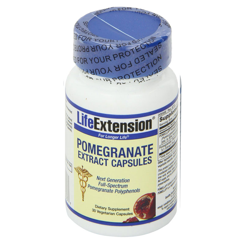 Life extension pomegranate extract 30 vegicaps -pharmacy4y overespa