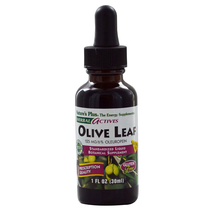 Nature`s plus liquid olive leaf 125 mg 1 oz -pharmacy4y overespa