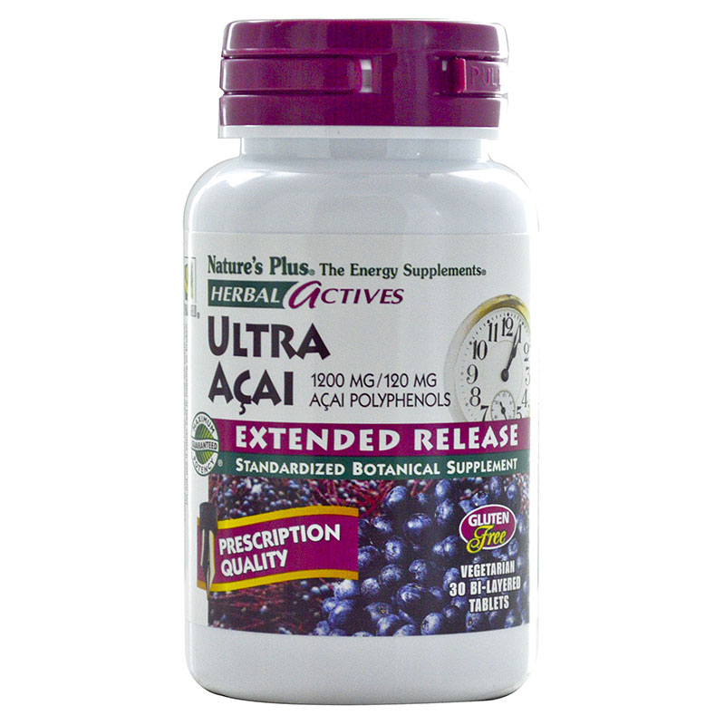 Nature`s plus ultra acai tabletes 30 -pharmacy4y overespa
