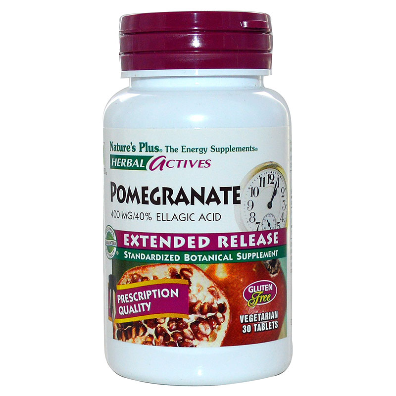 Nature`s plus extended release pomegranate tabs 30 -pharmacy4y overespa