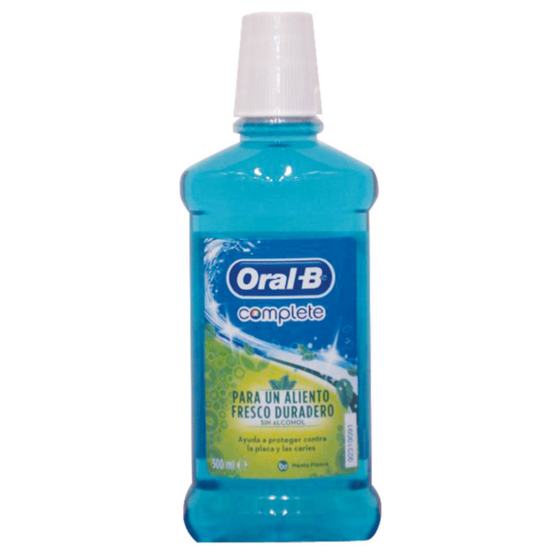 Oral-b mouthwash τερηδόνας 500ml  -pharmacy4y overespa