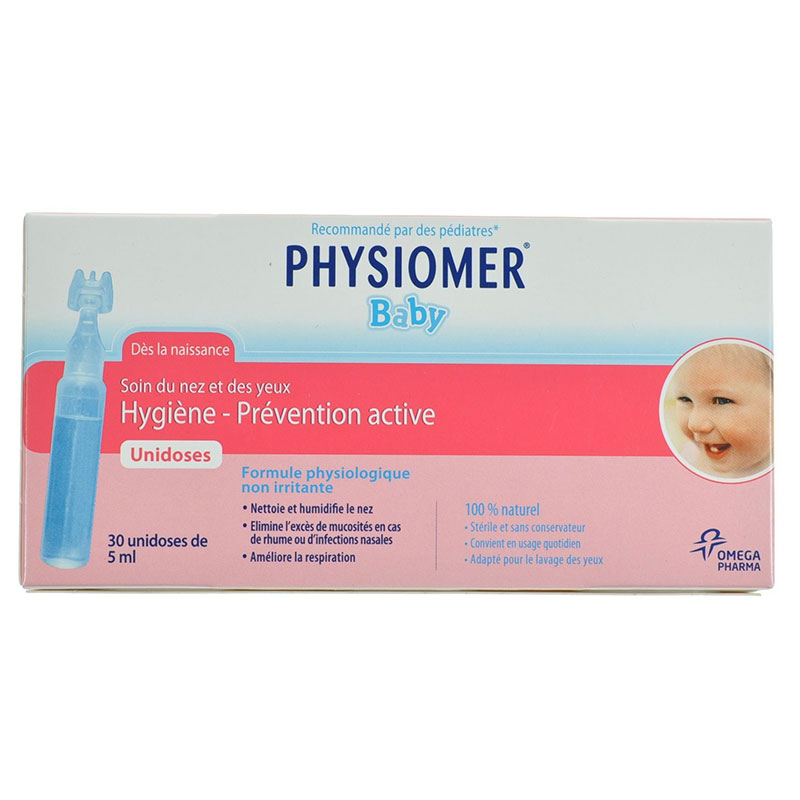 Physiomer unidoses 30 x 5ml -pharmacy4y overespa