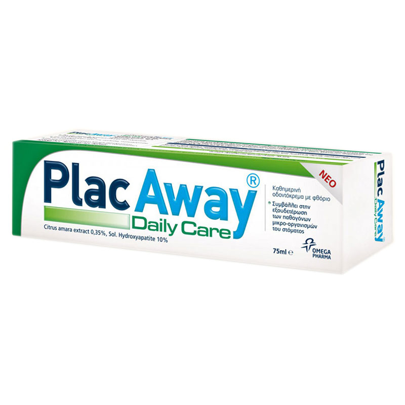 Plac Away Daily Care Pasta 75ml -pharmacy4y overespa