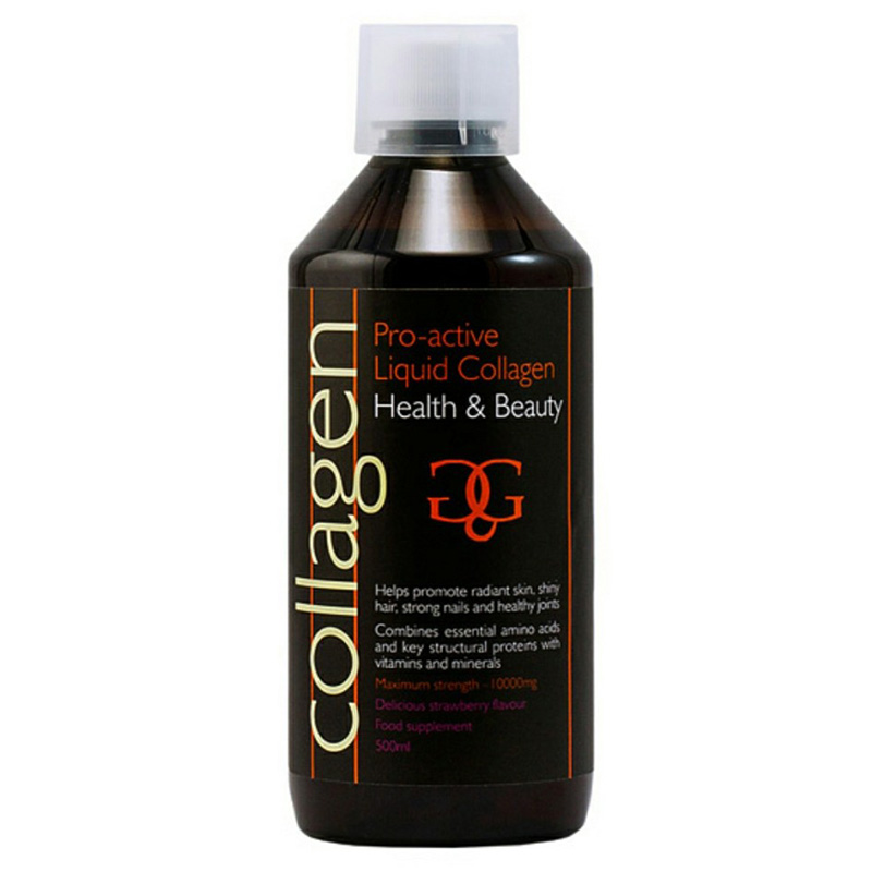 Pro Active Liquid Collagen Power Strawberry Pharmacy4y - Overespa
