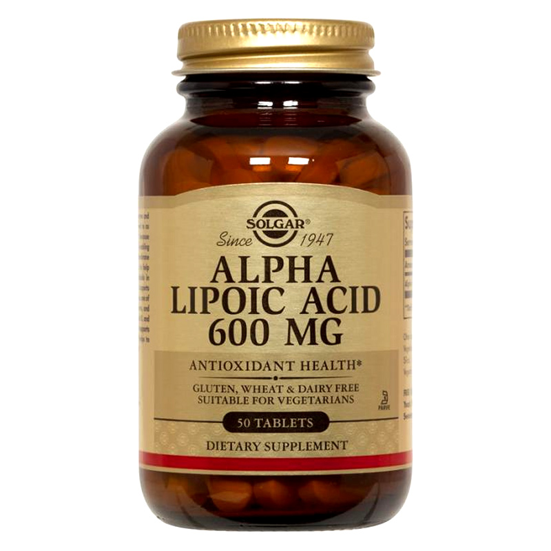 Solgar Alpha Lipoic Acid Πανίσχυρο αντιοξειδωτικό 60mg Veg Caps 30s Pharmacy4y Overespa