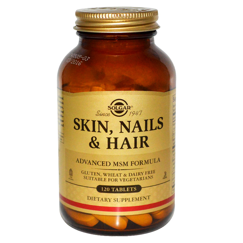 Solgar Skin Nails And Hair Form Φυτικά σκευάσματα, 120 Tabs Pharmacy4y Overespa