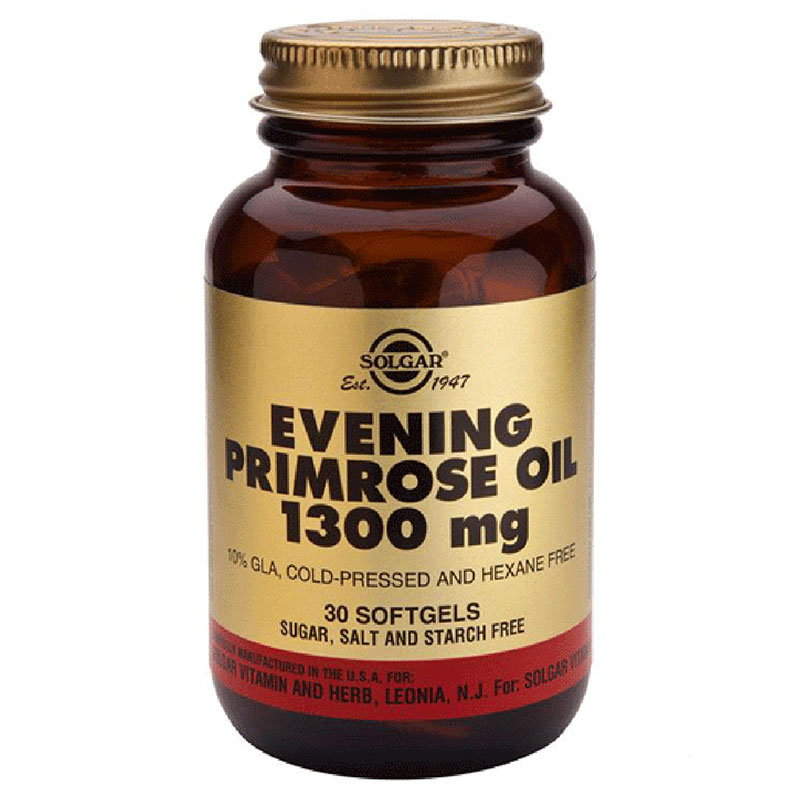 Solgar evening primrose oil 1300mg softgels 30s -pharmacy4y overespa
