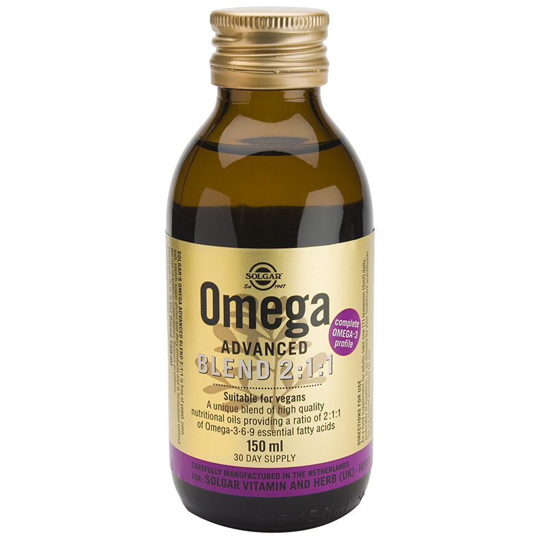 solgar Omega Advanced liquid Συμπληρώματα, Blend 2/1/1 Liquid Pharmacy4y - Overespa