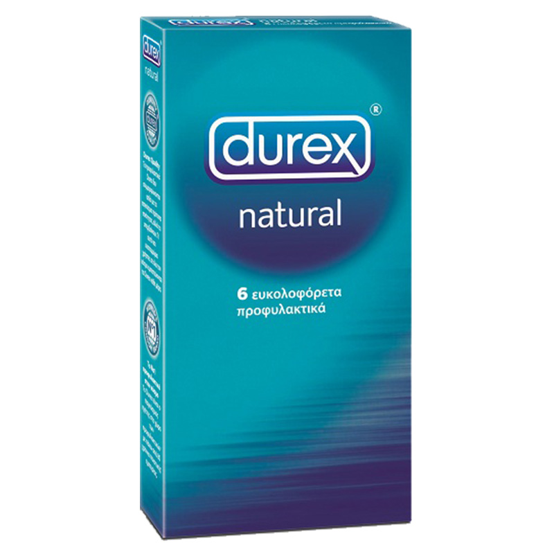 Durex Natural Προφυλακτικά, 6τμχ. Pharmacy4y - Overespa