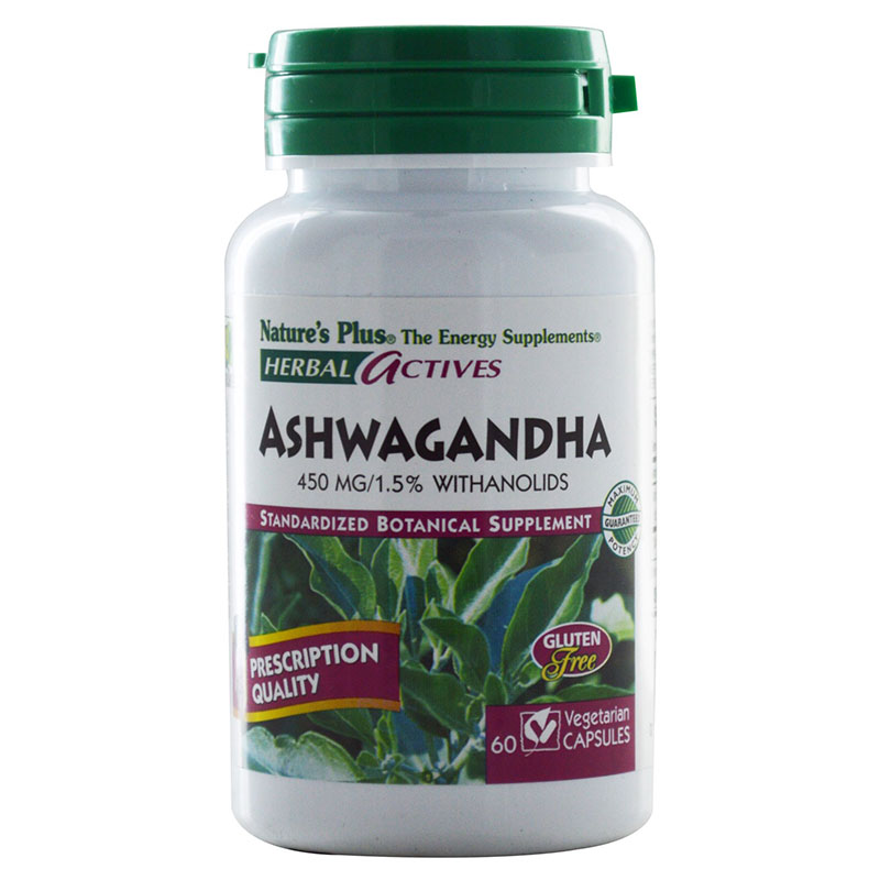 nature's plus Ashwagandha Το Ashwagandha ενισχύει την αντοχή Pharmacy4y Overespa