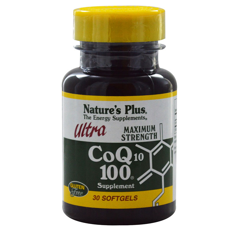 nature's plus Co Q10 100mg Αντιοξειδωτική δράση, 100mg 30caps Pharmacy4y Overespa