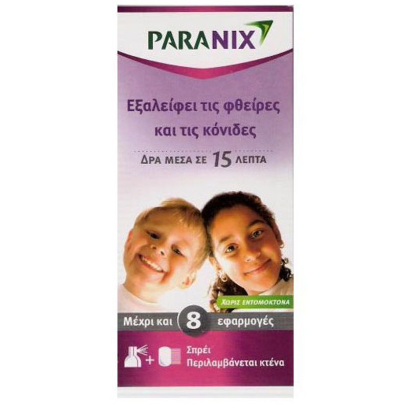 Paranix Spray για ψειρεσ/κονιδα.60ml Pharmacy4y - Overespa