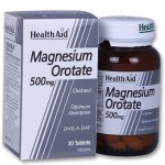 Health aid magnesium orotate 500mg 30tabs - pharmacy4y overespa