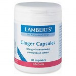 Lamberts Ginger 120mg 60 tabs - pharmacy4y overespa