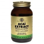Solgar acai extract softgels 60s -pharmacy4y overespa
