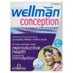Vitabiotics wellman conception 30tabs -pharmacy4y overespa