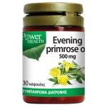 power health Evening Primrose Oil Φυσική πηγή λιπαρών οξέων Ω3, 500mg 30 S -pharmacy4y overespa